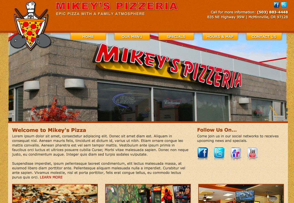 Mikeys Pizza Full