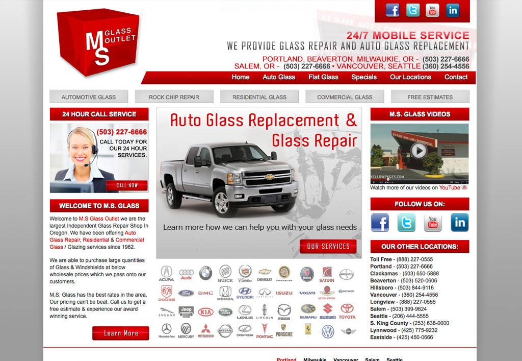 Ms Glass Large