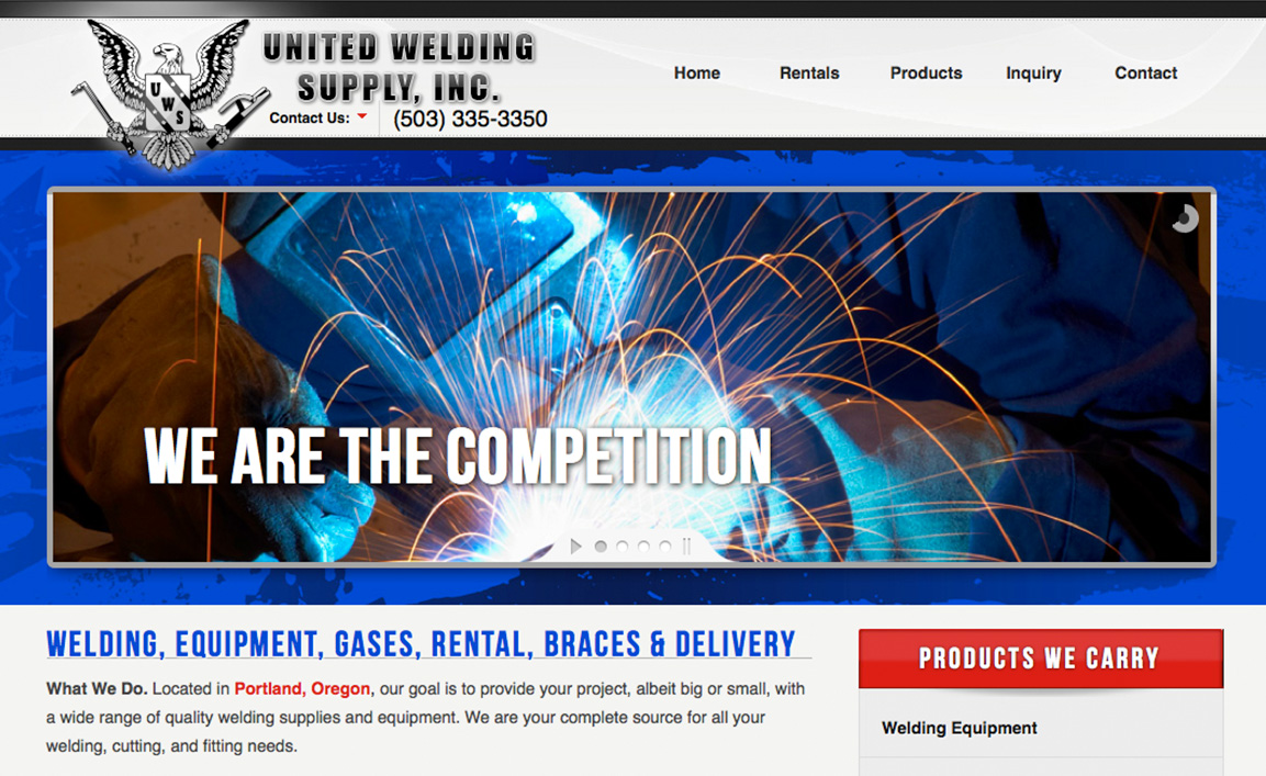 United Welding Supply, Inc.<div style='clear:both;width:100%;height:0px;'></div><span class='cat'>Custom Design</span>